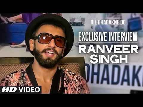 Exclusive: Ranveer Singh Interview | Dil Dhadakne Do