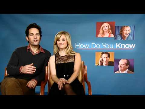 Greetings from Reese Witherspoon and Paul Rudd stars of HOW DO YO KNOW