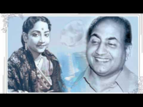 Mera dil tujhpe qurbaan hain : Geeta Dutt , Mohd Rafi: Film - Naya Paisa (1958)