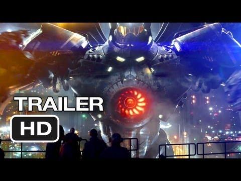 Pacific Rim Official Wondercon Trailer (2013) - Guillermo del Toro Movie HD