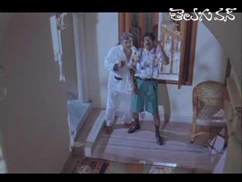 Comedy Scene between Jr Chiranjeevi and AVS