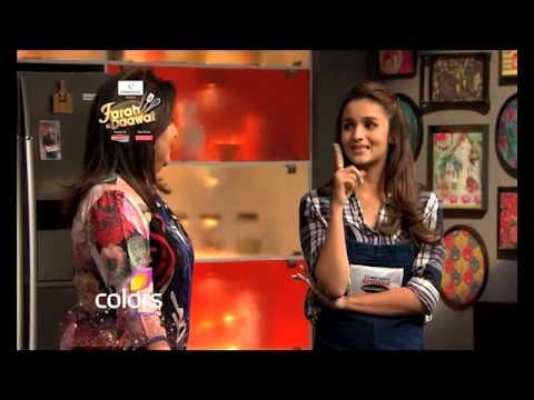 Alia Bhatt in Videocon Farah Ki Daawat - Promo