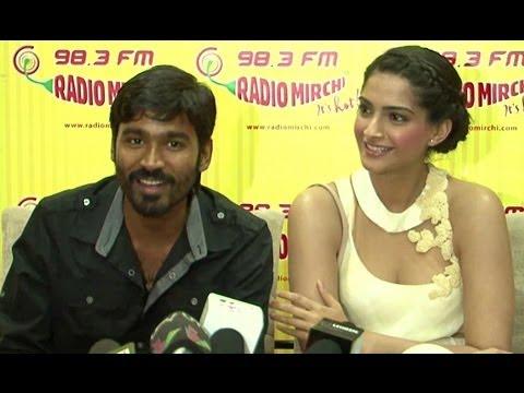 Sonam Kapoor & Dhanush Promote 'Raanjhanaa'