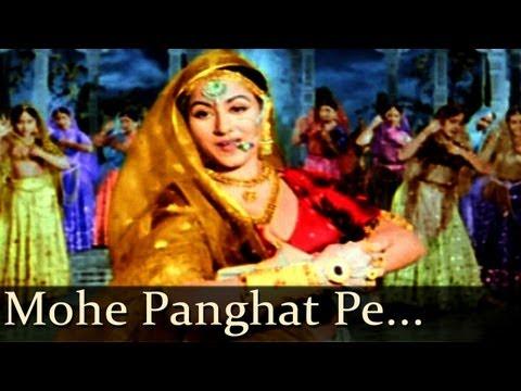 Mughal - E - Azam - Mohe Panghat Pe Nandlal - Lata Mangeshkar