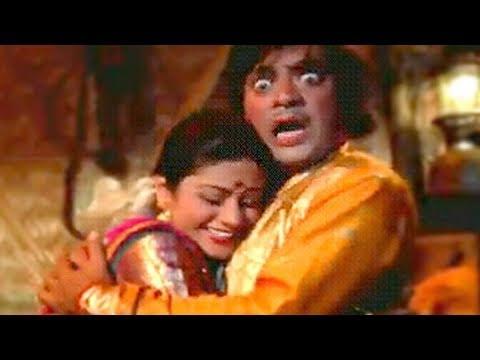 Jagdeep, Aruna Irani Behind the Scenes- Ghazab
