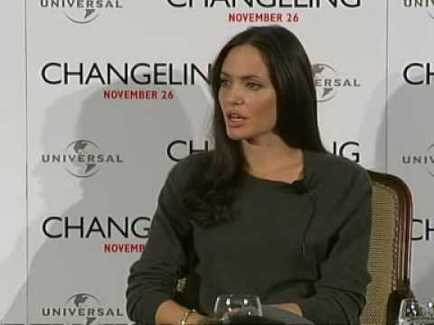 Angelina Jolie on new movie Changeling