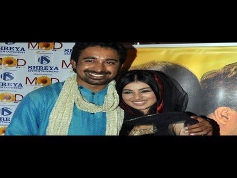Ayesha & Ranvijay at 'Mod' movie music launch