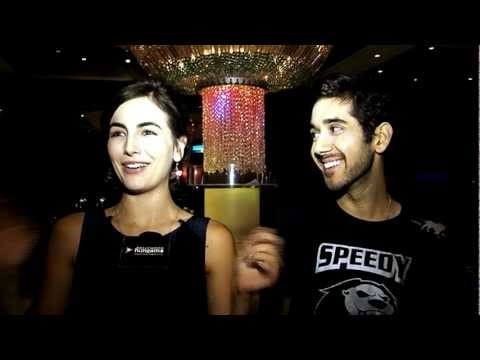 Vinay Virmani and Camilla Belle on Speedy Singhs