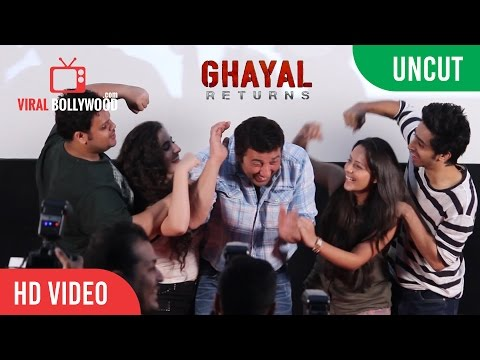 UNCUT - Ghayal Once Again Trailer Launch | Sunny Deol | Movie Cast