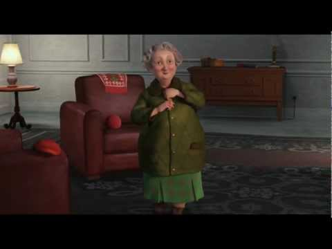 ARTHUR CHRISTMAS Film Clip - Hand me my Suit