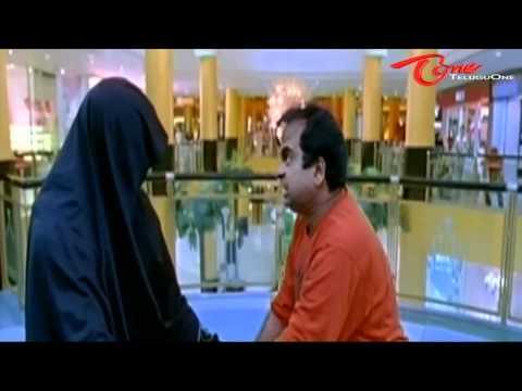 Comedy Scene - Ravi Teja beats Brahmi