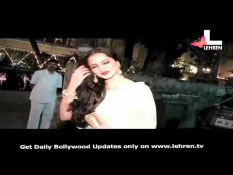 Rekha at Tell Me O Kkhuda screening