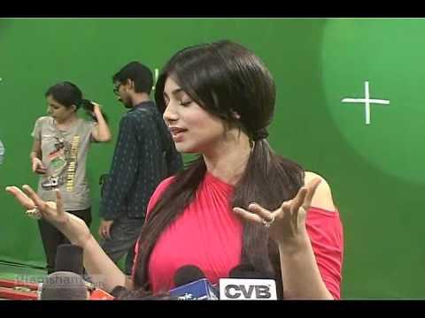 Ayesha and Ranvijay at MOD music video shoot