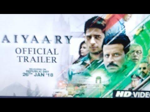 Aiyaary Trailer Launch Event | Neeraj Pandey | Sidharth Malhotra | Manoj Bajpayee