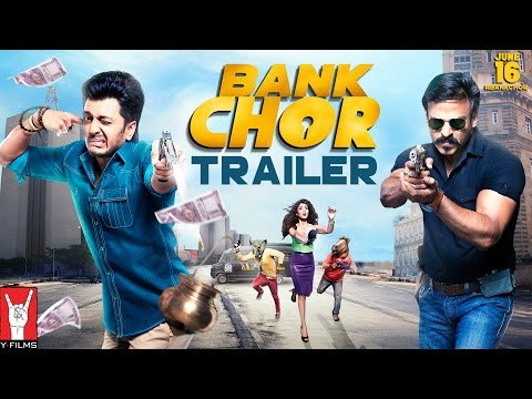 Bank Chor | Official Trailer | Riteish Deshmukh | Vivek Anand Oberoi | Rhea Chakraborty