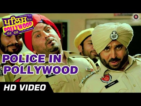Police In Pollywood Official Video HD | Police In Pollywood | Anuj Sachdeva & Bhagwant Mann