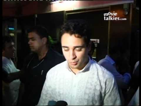 Imran Khan sptted at a 'BODYGUARD' show