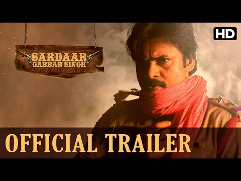 Sardaar Gabbar Singh Official Trailer (Hindi)
