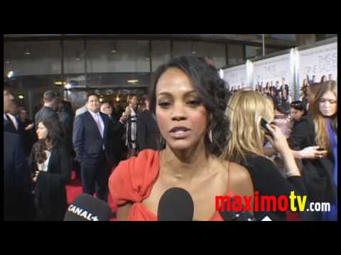Death At A Funeral' Premiere Zoe Saldana, Chris Rock…