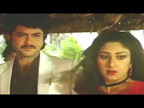 Anil Kapoor and Meenakshri together - Meri Jung