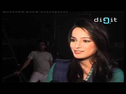 Anita Hassanandani on the sets of Haunted (3D)