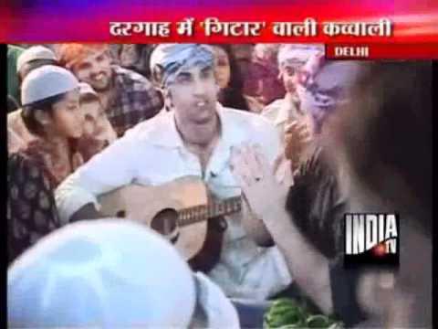 Ranbir & Imtiaz visit Dargah in Delhi