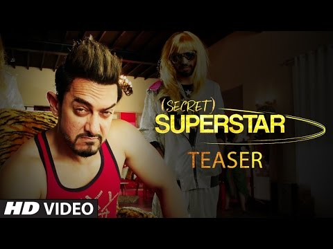 Secret Superstar | Teaser | Zaira Wasim | Aamir Khan