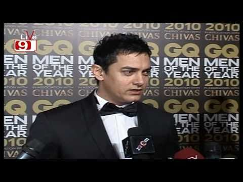 Aamir Khan Boasts About Peepli Live At GQ Man Of The Year 2010!!