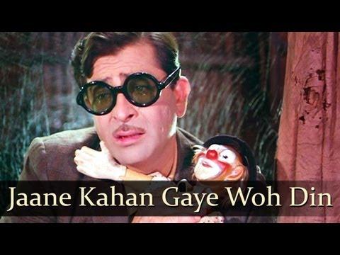 Mukesh - Jaane Kahan Gaye Woh Din - Mera Naam Joker [1970]