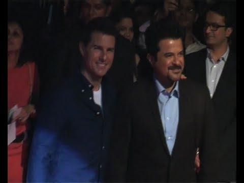Tom Cruise Promotes 'Mission Impossible 4' In Mumbai