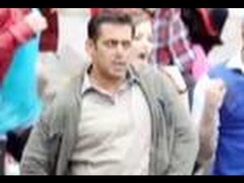 On the sets of Salman - Katrina's Ek The Tiger