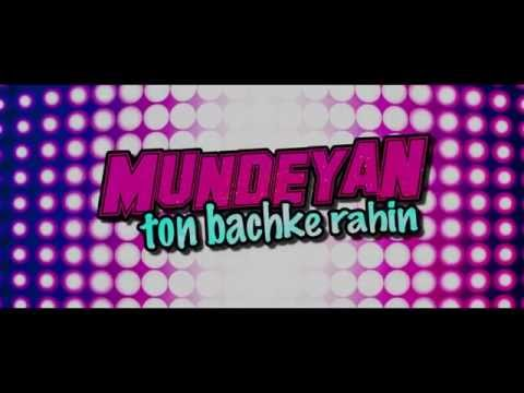 Mundeyan Ton Bachke Rahin | Trailer | Film Releasing 30th May 2014 | Roshan, Simran & Jassi