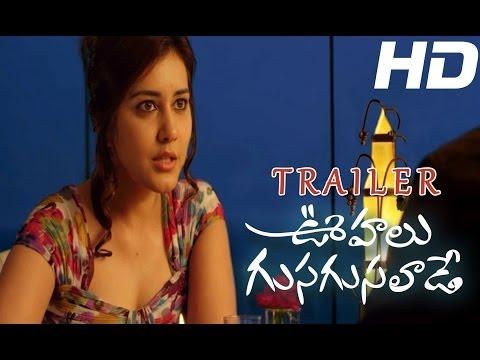 Oohalu Gusagusalaade Theatrical Trailer - Naga Shaurya, Rashi Khanna - Vel Records