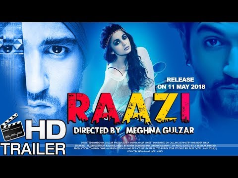 Raazi Movie Trailer First Look 2018 | Alia Bhatt | Vicky Kaushal | Amruta Khanvilkar | Soni Razdan