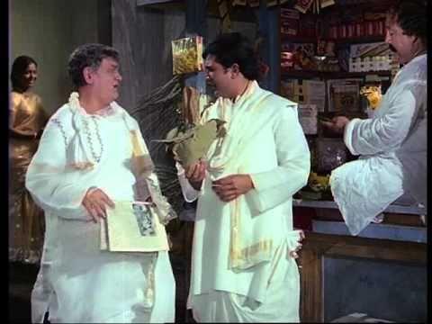 Amar Prem - Khatra Hai - Rajesh Khanna & Om Prakash - Bollywood Comedy Scenes