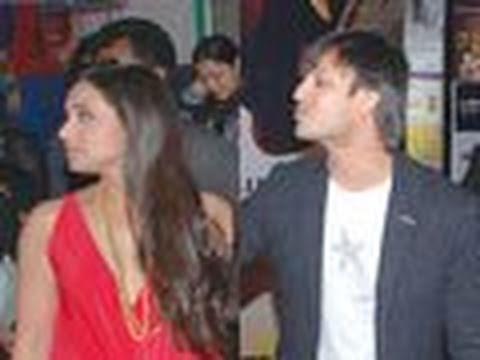 Rani IGNORES co-star Vivek Oberoi