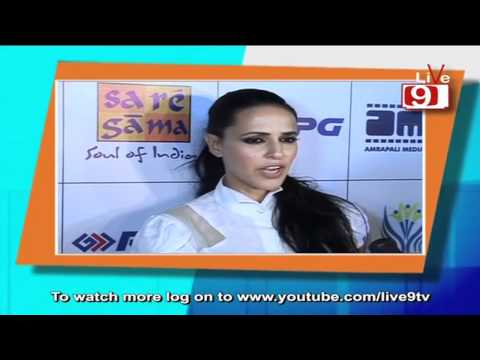 Neha Dhupia At the Music Launch of 'Gandhi To Hilter'