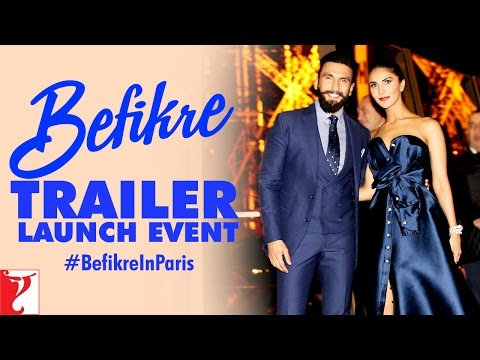 Befikre Trailer Launch Event at Eiffel Tower