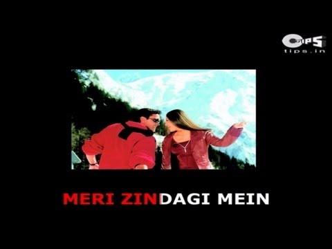 Meri Zindagi Mein Ajnabee Ka Intezaar Hai - Kareena Kapoor & Bobby Deol - Sing Along