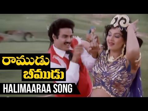 Telugu Song - Balakrishna - Radha - Ali Marava