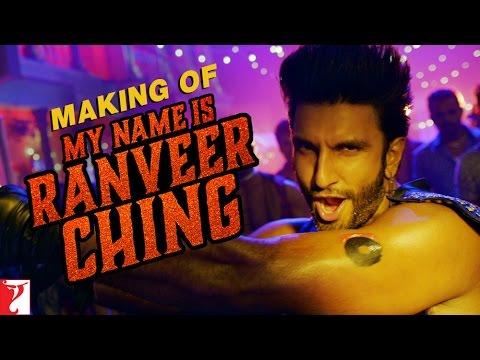 Making of My Name is Ranveer Ching - Ranveer Singh