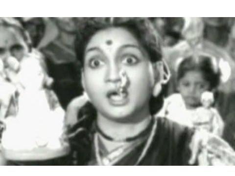 Anjali Devi Tamil Song - Jhorana Bommai Parunga - Manalane Mangayin Bhagyam