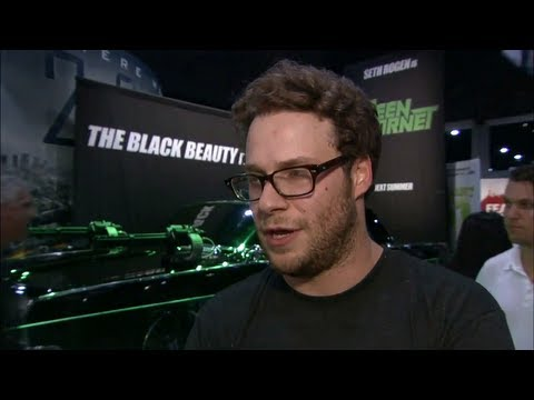 The Green Hornet - Official Comic Con 2009 Seth Rogen Interview