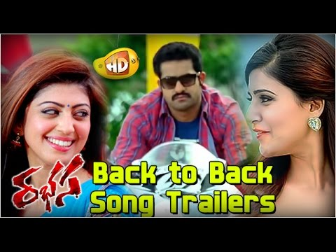Jr NTR Rabhasa Movie Back-To-Back Song Trailers - Samantha, Pranitha Subhash