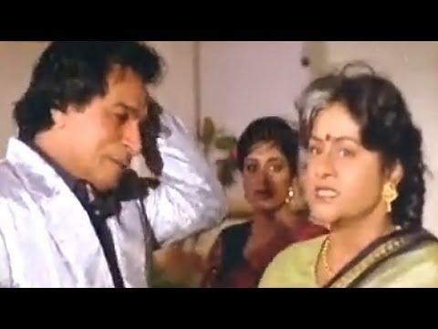 Aruna Irani Fights with Kader Khan