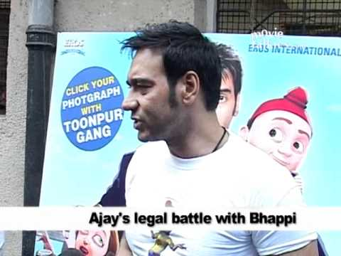 Ajay: 'Bappi should see 'Toonpur' and THEN decide...'