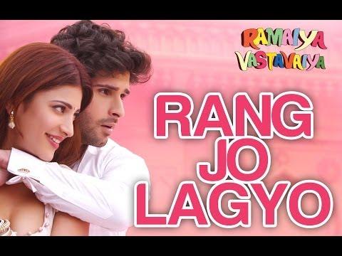 Rang Jo Lagyo - Ramaiya Vastavaiya