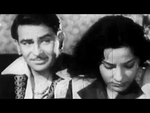 Dil Ke Sheesh Mahal Mein - Raj Kapoor, Nargis, Amber Song
