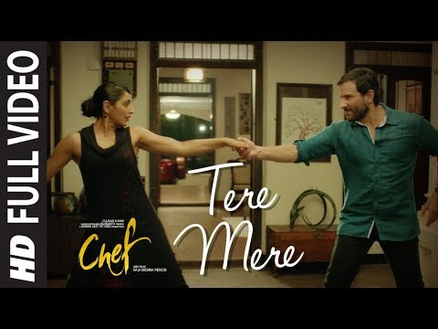 Full Video: Tere Mere Song | Chef | Saif Ali Khan | Amaal Mallik feat. Armaan Malik | T-Series