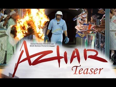 Azhar - Teaser Trailer 2015 First Look Out | Emraan Hashmi, Nargis Fakhri, Prachi Desai